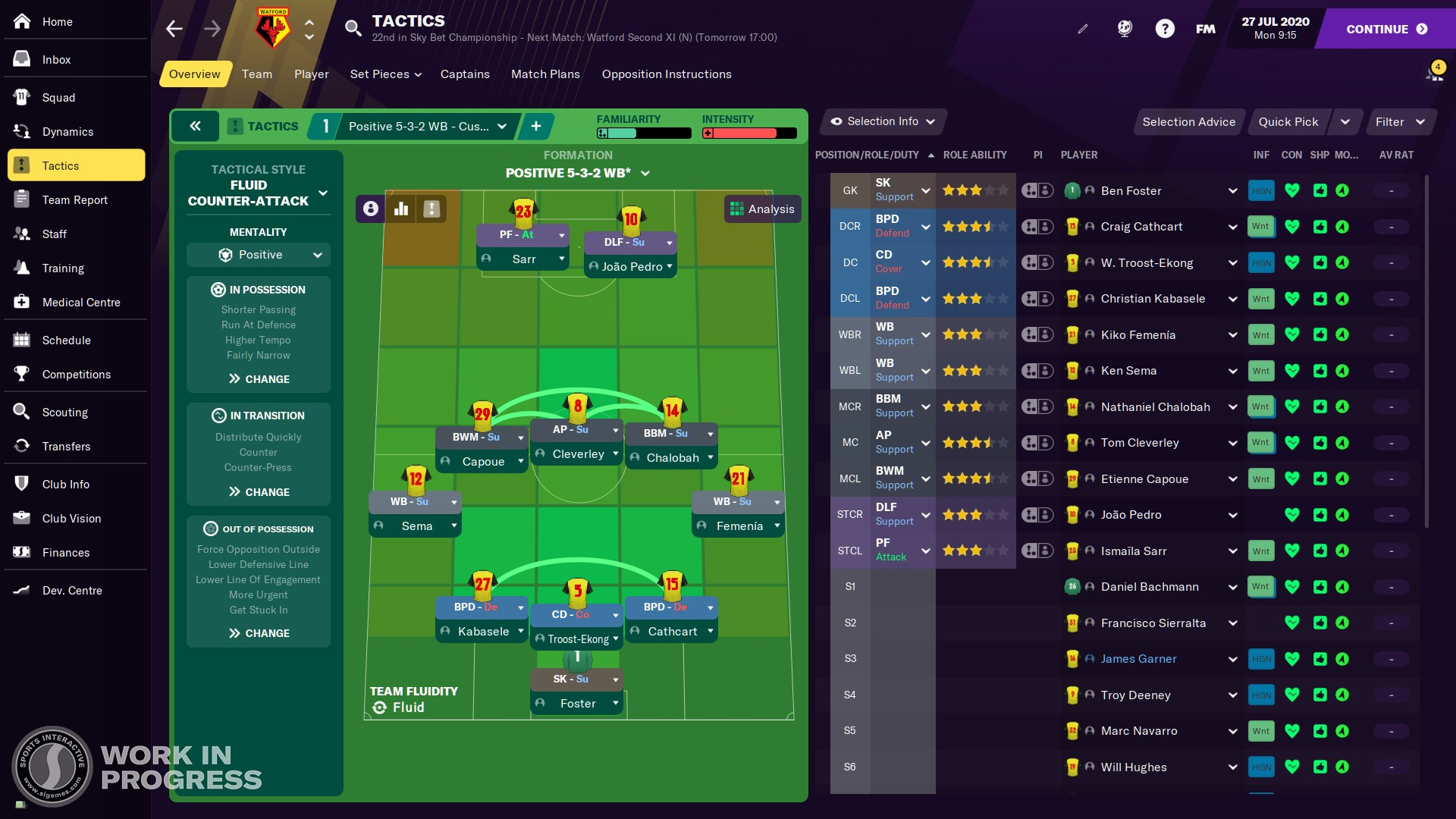 Football manager 2021 tactics goals galore betting betting on fantasy sports