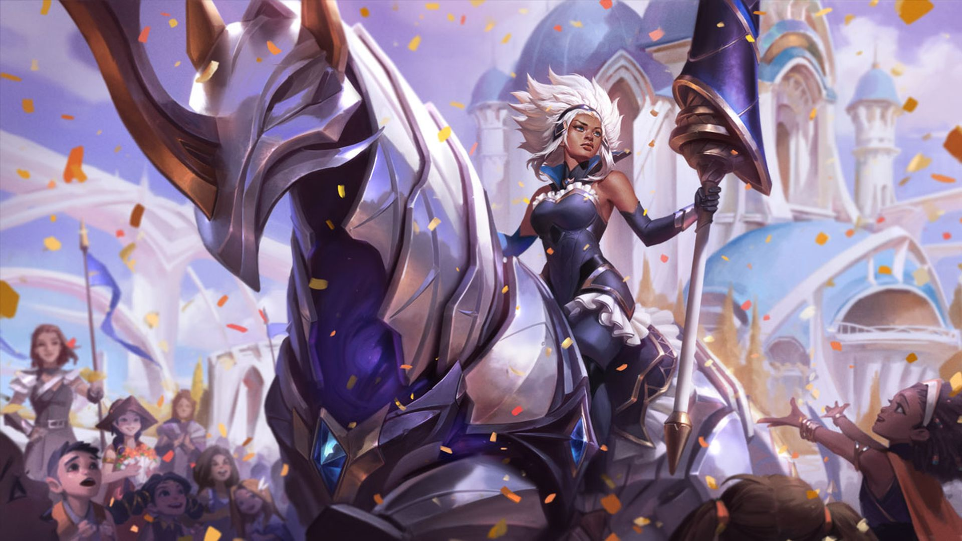 League Of Legends Patch 10 25 Notes New Champion Rell Battle Queen Skins Anivia Overhaul Pcgamesn