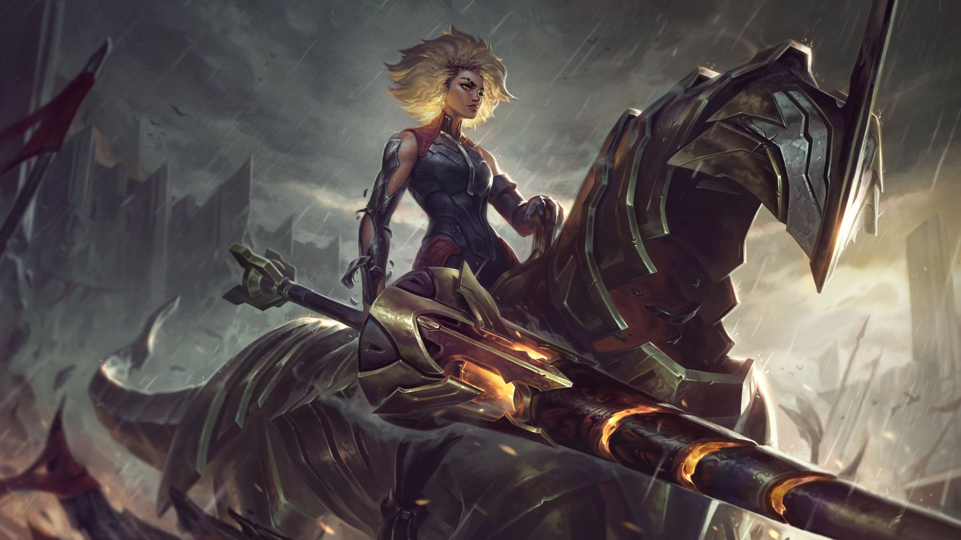 League of Legends Patch 10.25 Rell, The Iron Maiden