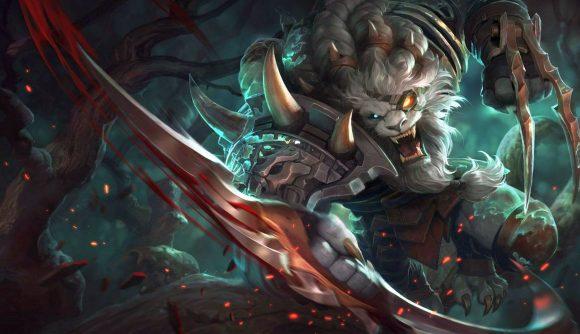 League of Legends champion Rengar, a feline-like warrior assassin champion