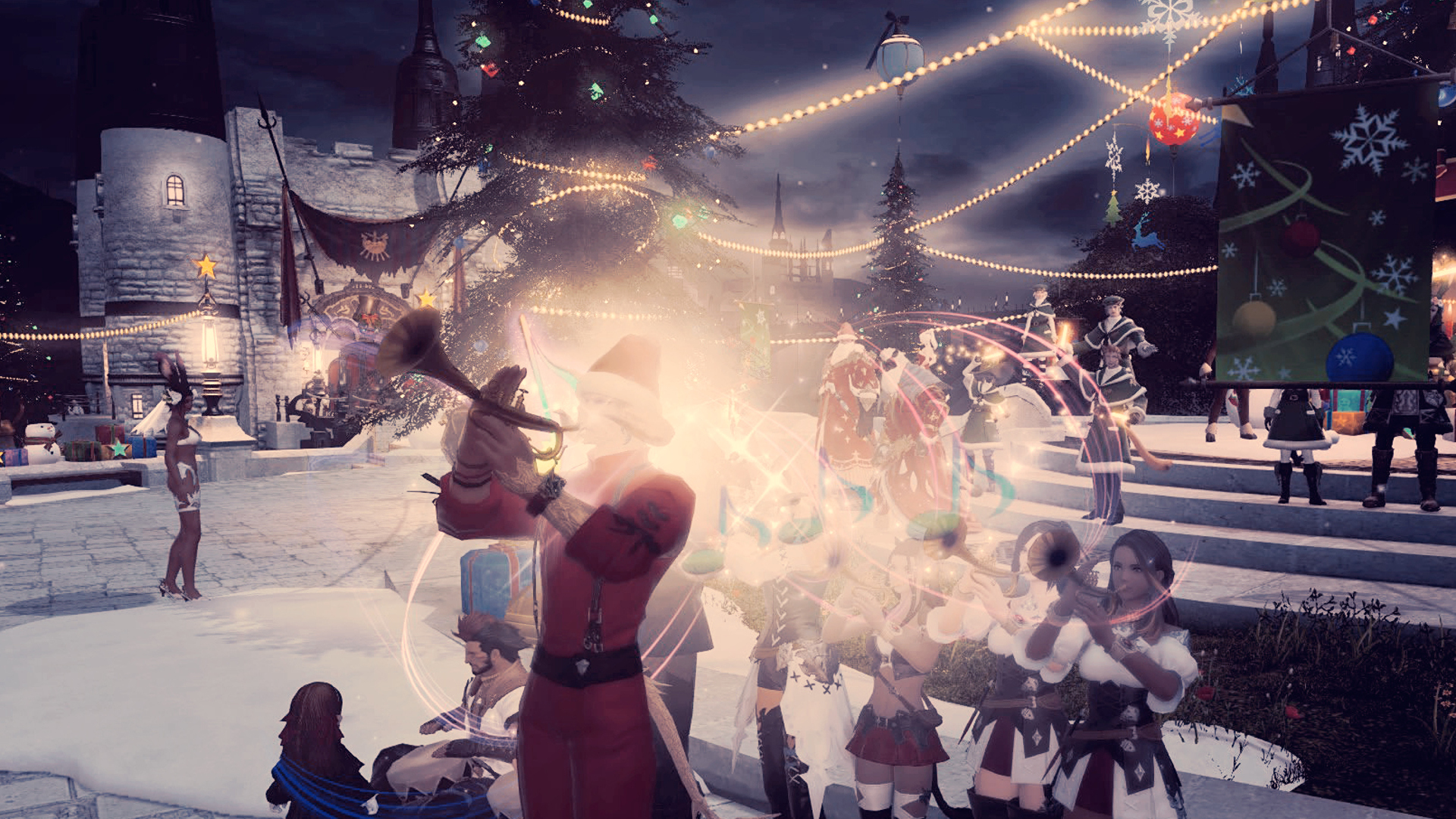 Ffxiv When Is Christmas 2021 Final Fantasy 14 Players Host In Game Christmas Event Are Incredibly Wholesome Pcgamesn