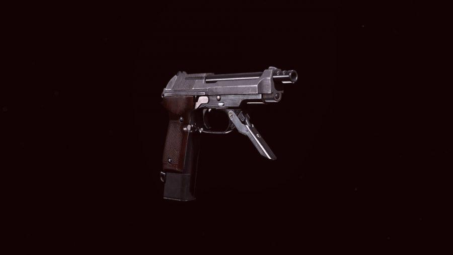 The Diamatti pistol in Call of Duty Warzone