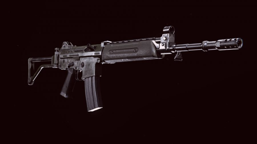The Krig 6 assault rifle in Call of Duty Warzone