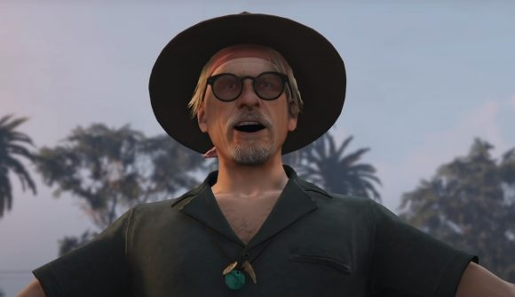 One of the new characters you'll meet in GTA Online's Cayo Perico update