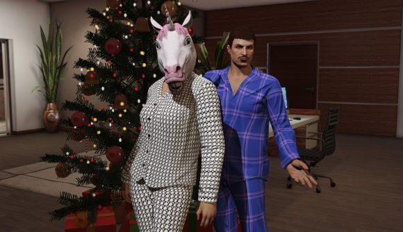 It's Christmas in Los Santos