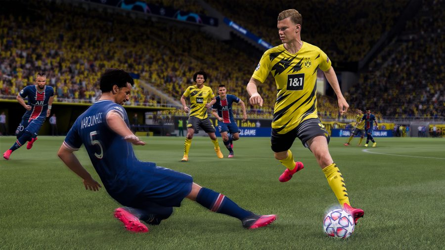 Learning soccer through videogames