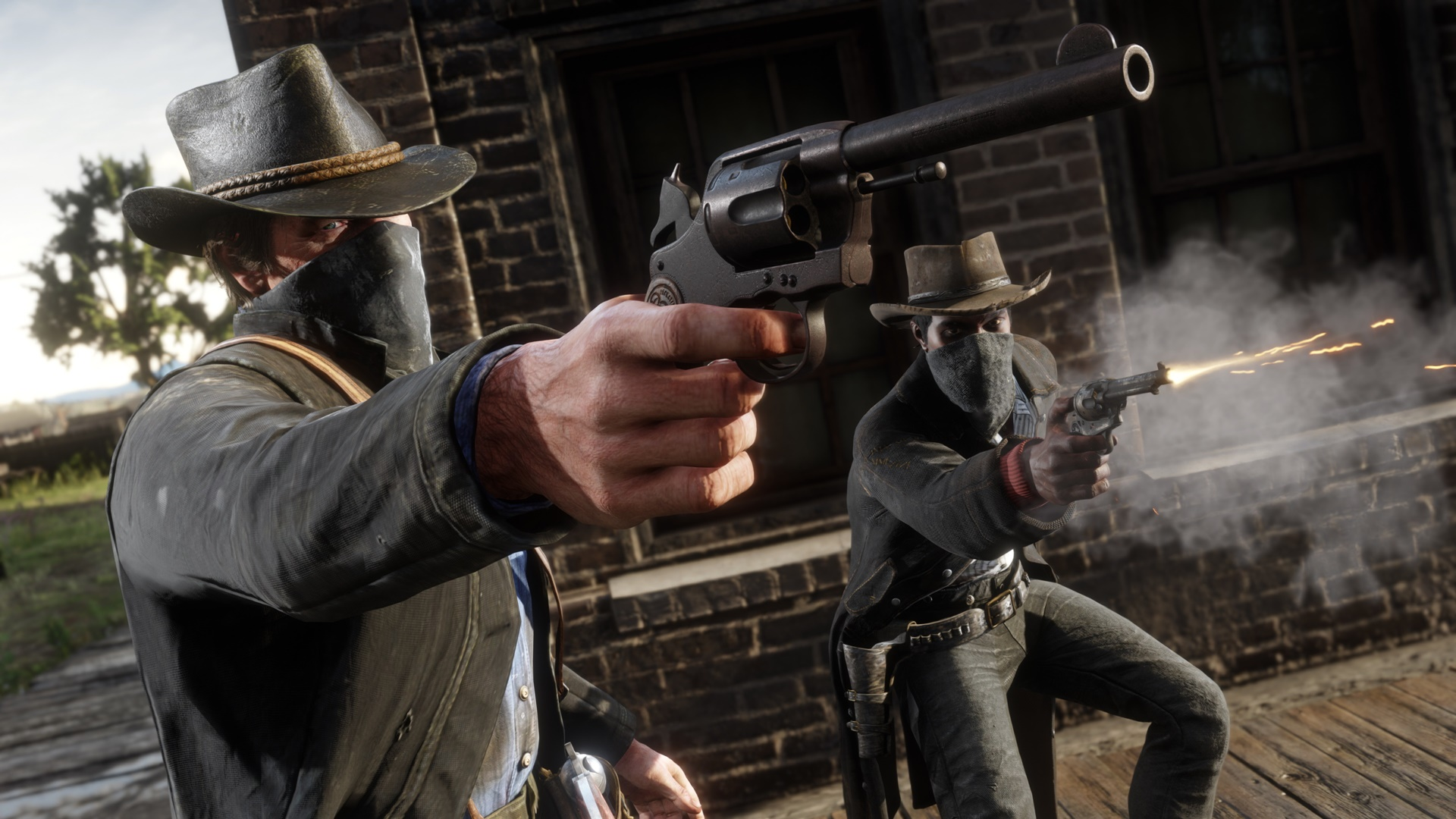 Red Dead Online's summer update will let you rob camps and homesteads