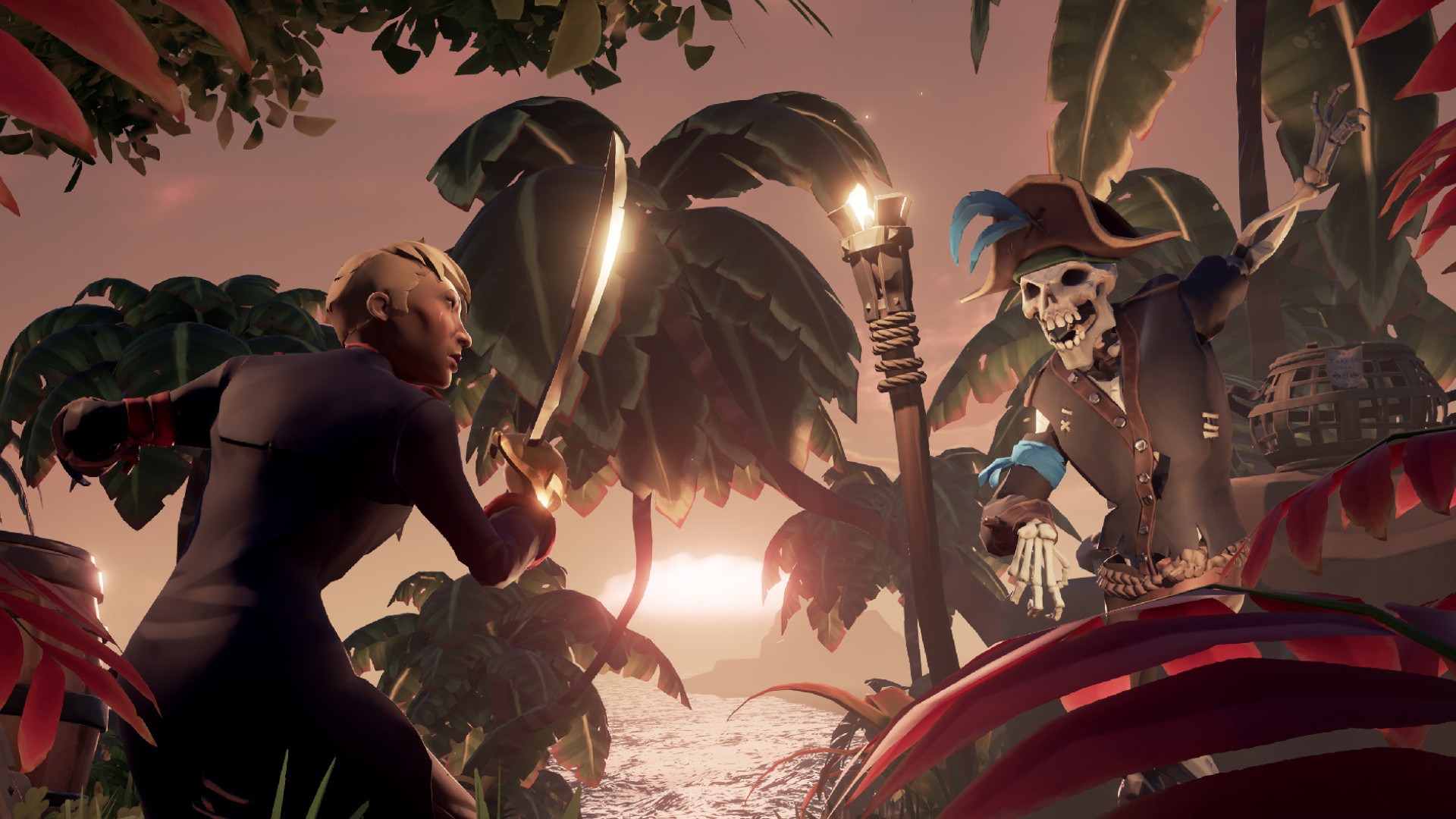 Sea of Thieves now has a 50/50 player split across console and PC