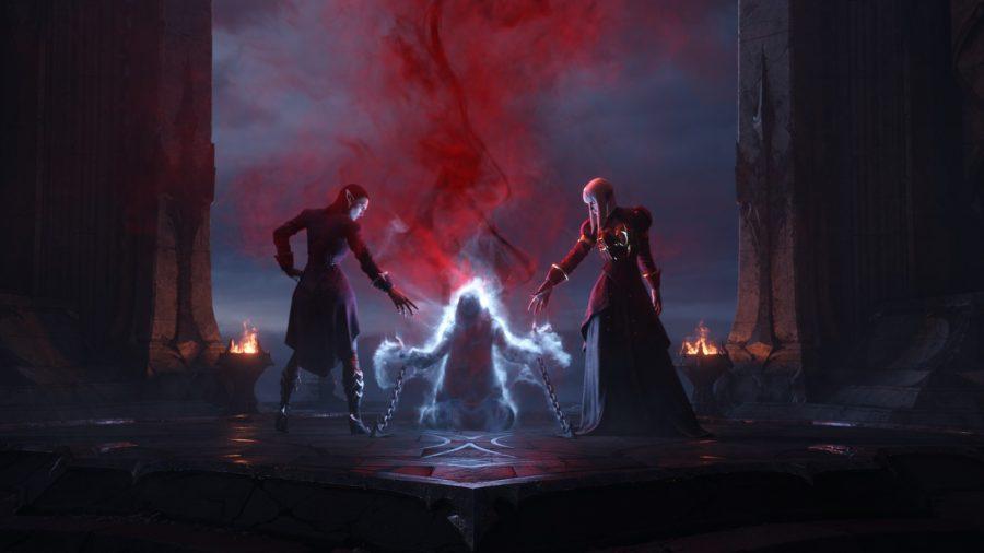 Spirit tied in Castle Nathria raid in WoW Shadowlands