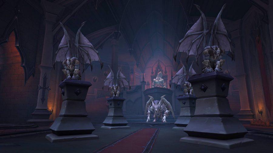 Nathria Castle raid in WoW Shadowlands