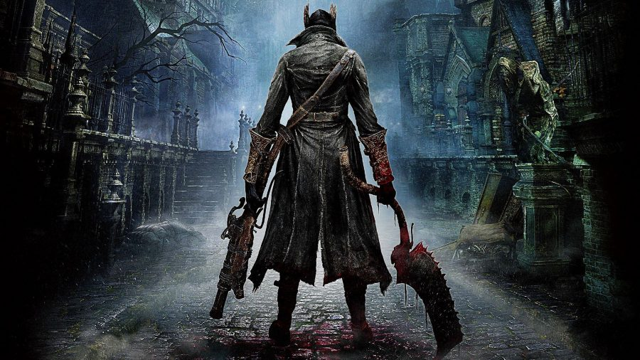 A hunter from Bloodborne, one of the console games we wish was on PC.