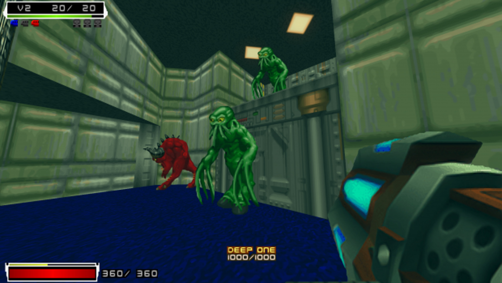 Ratchet and Clank become Doom Guy in this Doom 2 mod