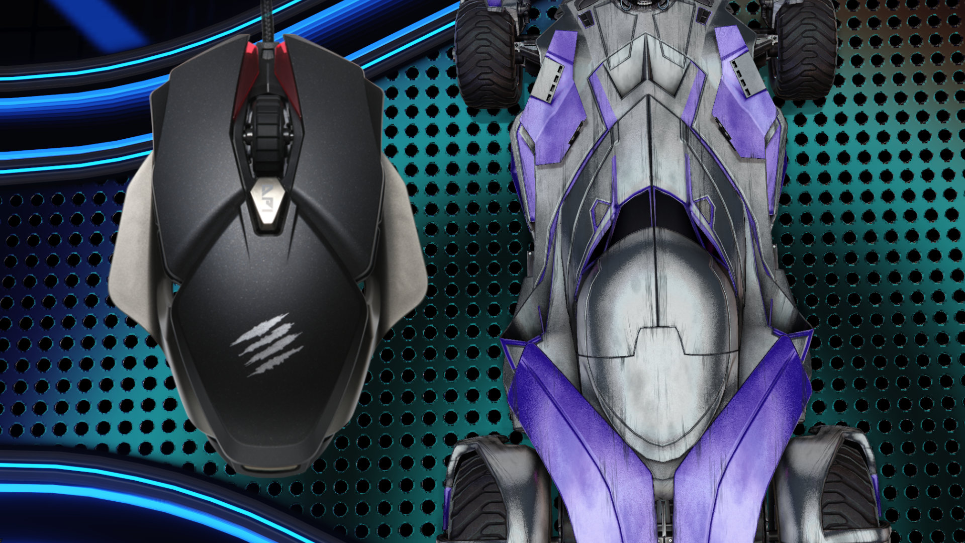 Mad Catz' new B.A.T. 6+ gaming mouse is less Transformers and more Batmobile