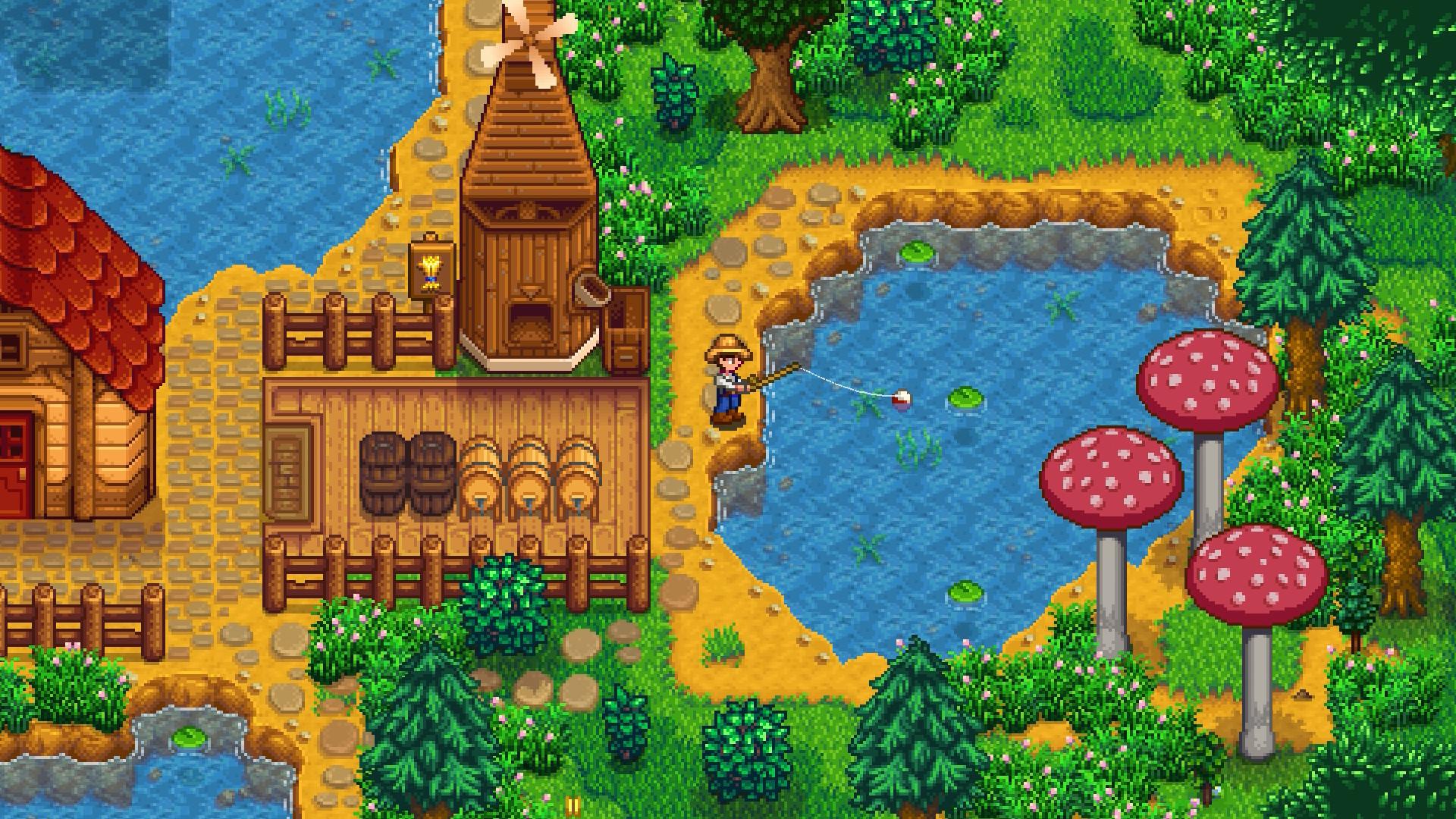 Stardew Valley update breaks multiplayer fishing, hotfix is live