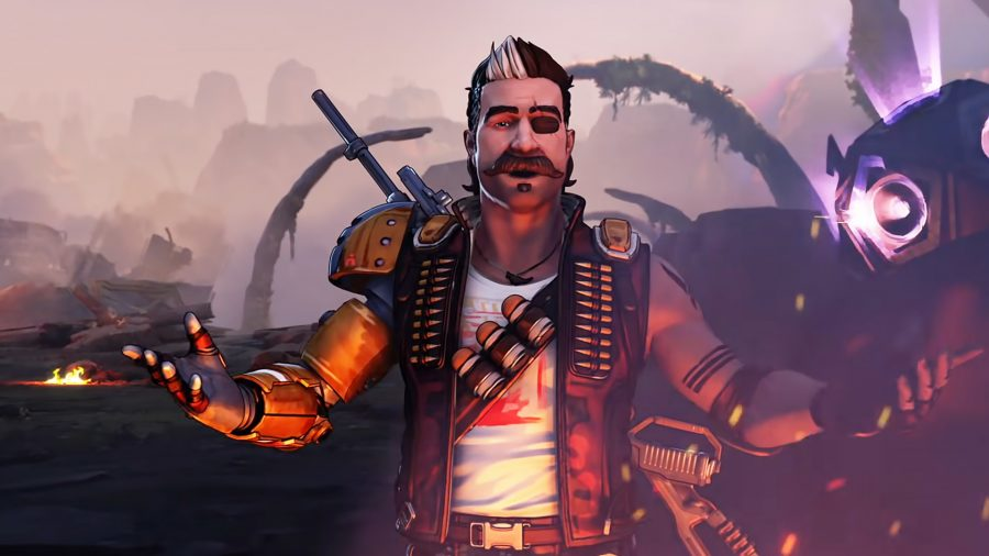 Fuse, the latest character to join Apex Legends in front of the recently destroyed Kings Canyon