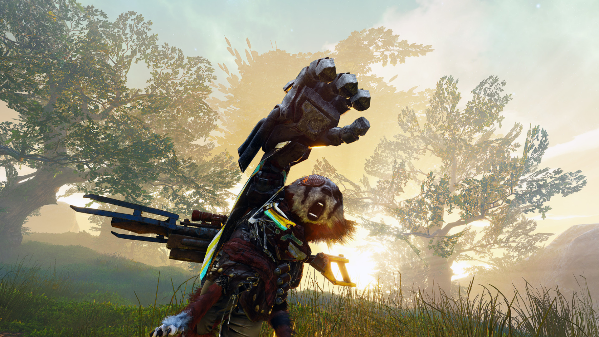 Kung-fu varmint RPG Biomutant gets a May release date