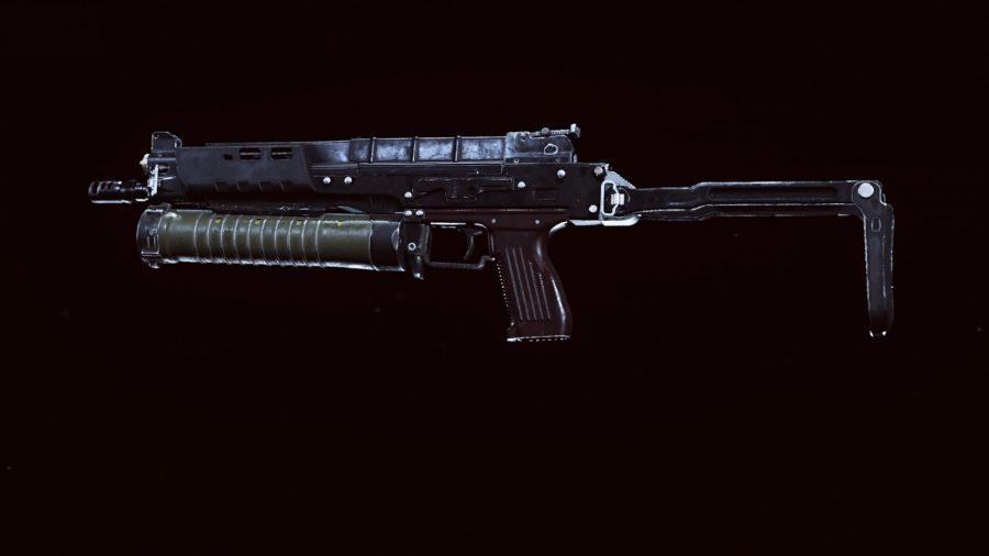 The Bullfrog SMG in Call of Duty Warzone