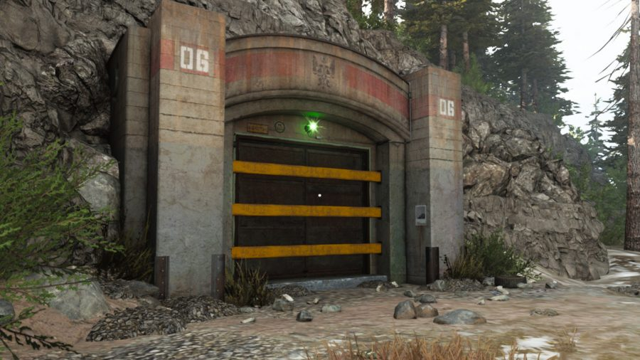 Bunker 5 located on Verdansk, the first map in Call of Duty Warzone