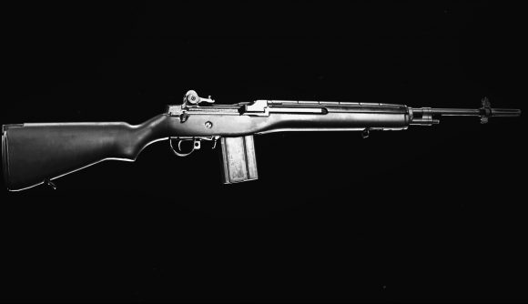 The DMR 14 semi-automatic tactical rifle in Call of Duty: Warzone