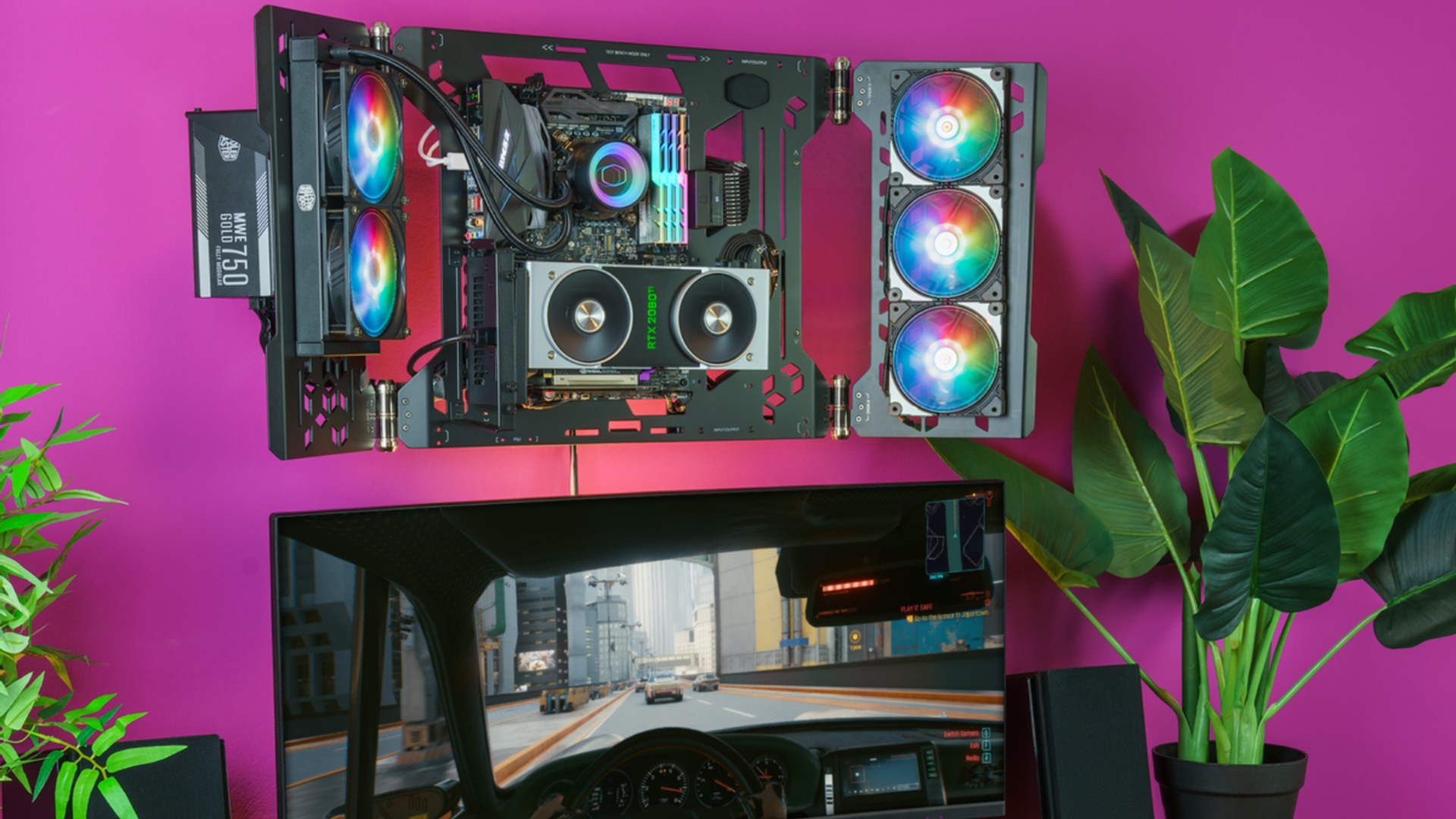 Cooler Master wants your next PC to hang inside-out above your monitor