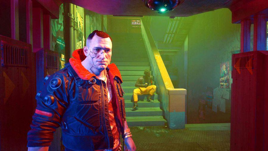 Cyberpunk 2077 face animation