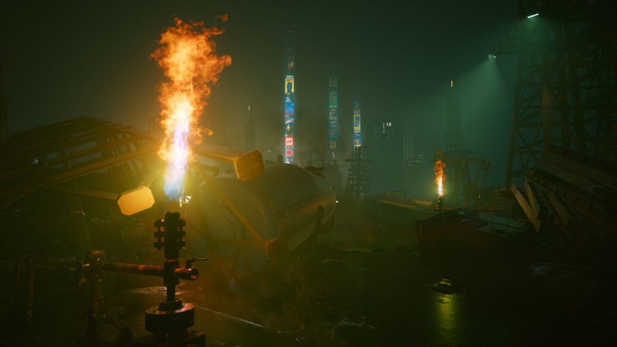 Cyberpunk 2077 heist mission
