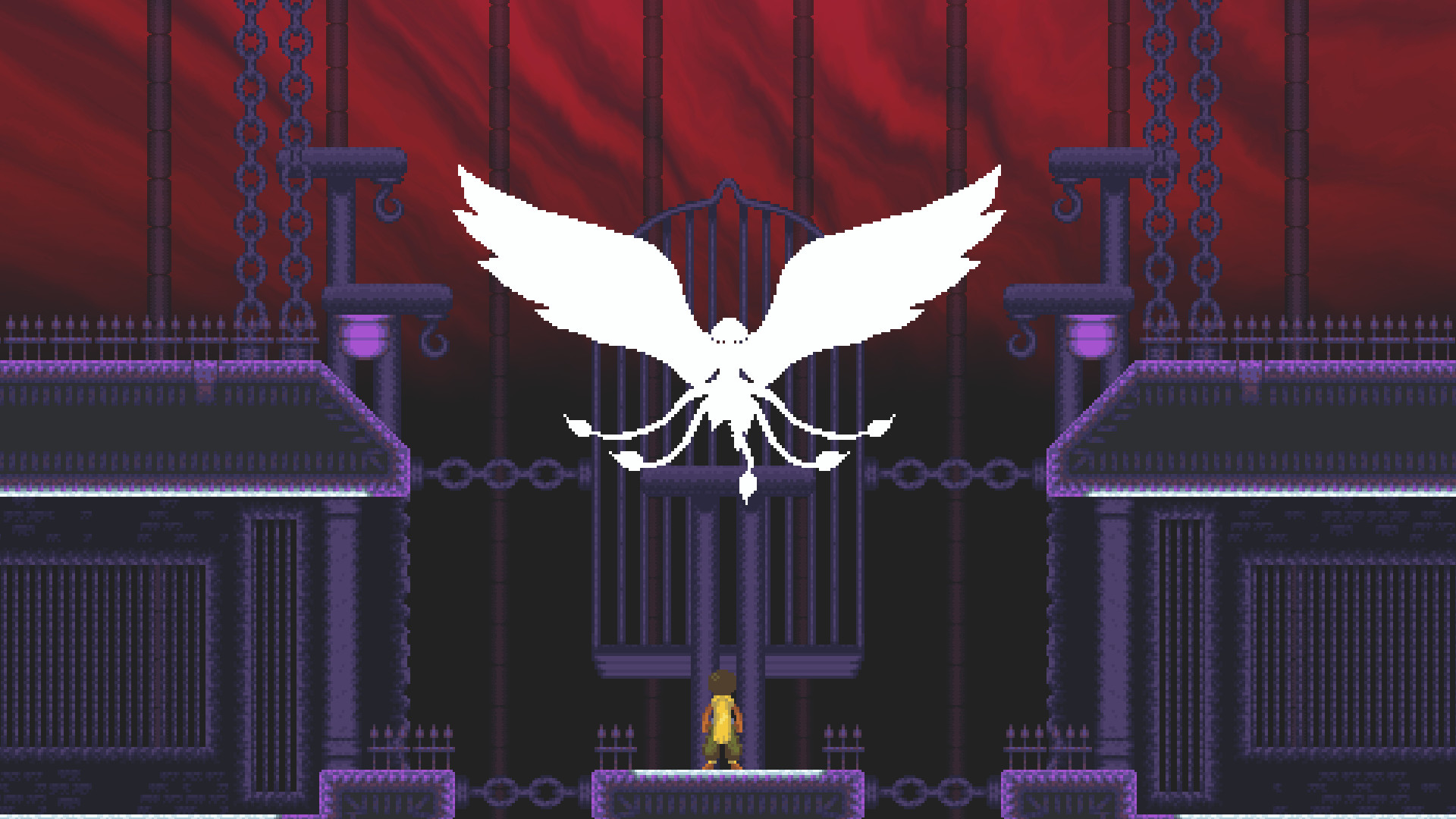 Next week's free game from Epic is a gravity-defying Metroidvania