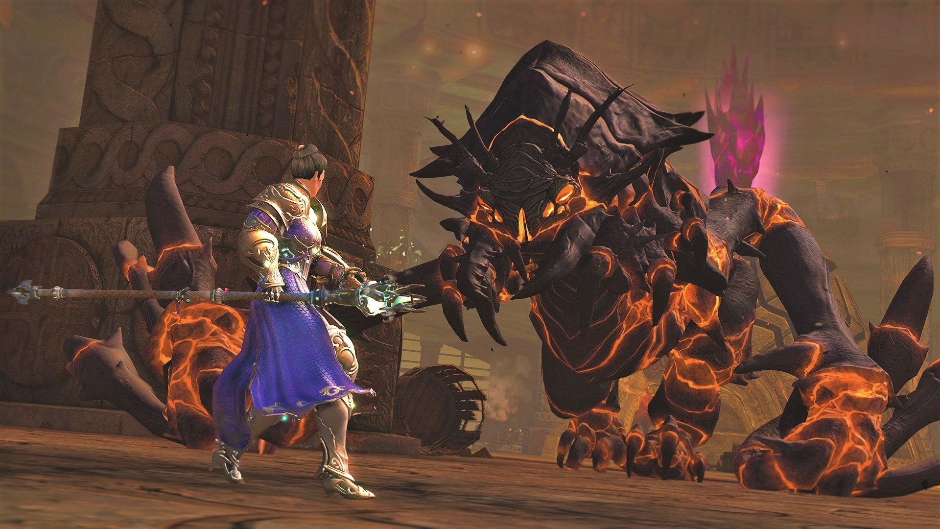 Guild Wars 2's Dragon Response bosses dial up the challenge in 'Power'