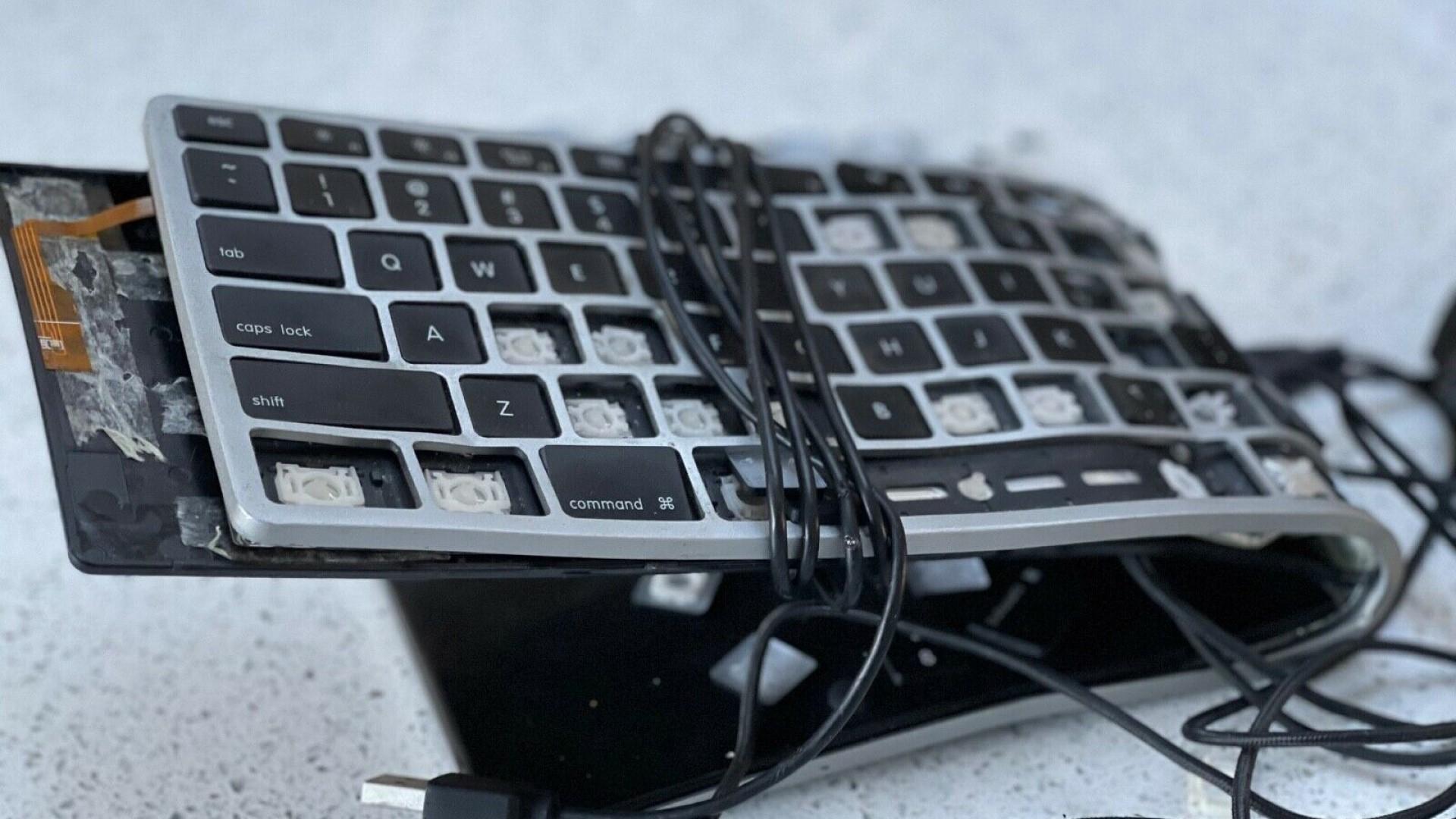 You can buy a keyboard John Romero smashed while ragequitting Quake