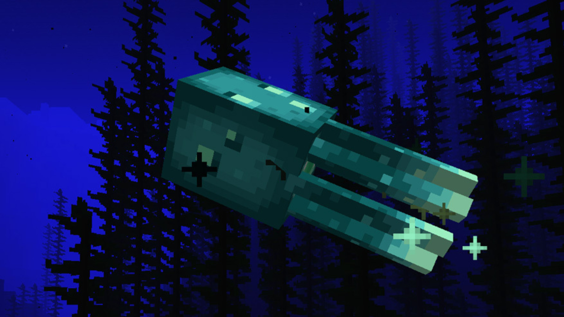 Minecraft glow squid – how to make glowing signs with ink sacs