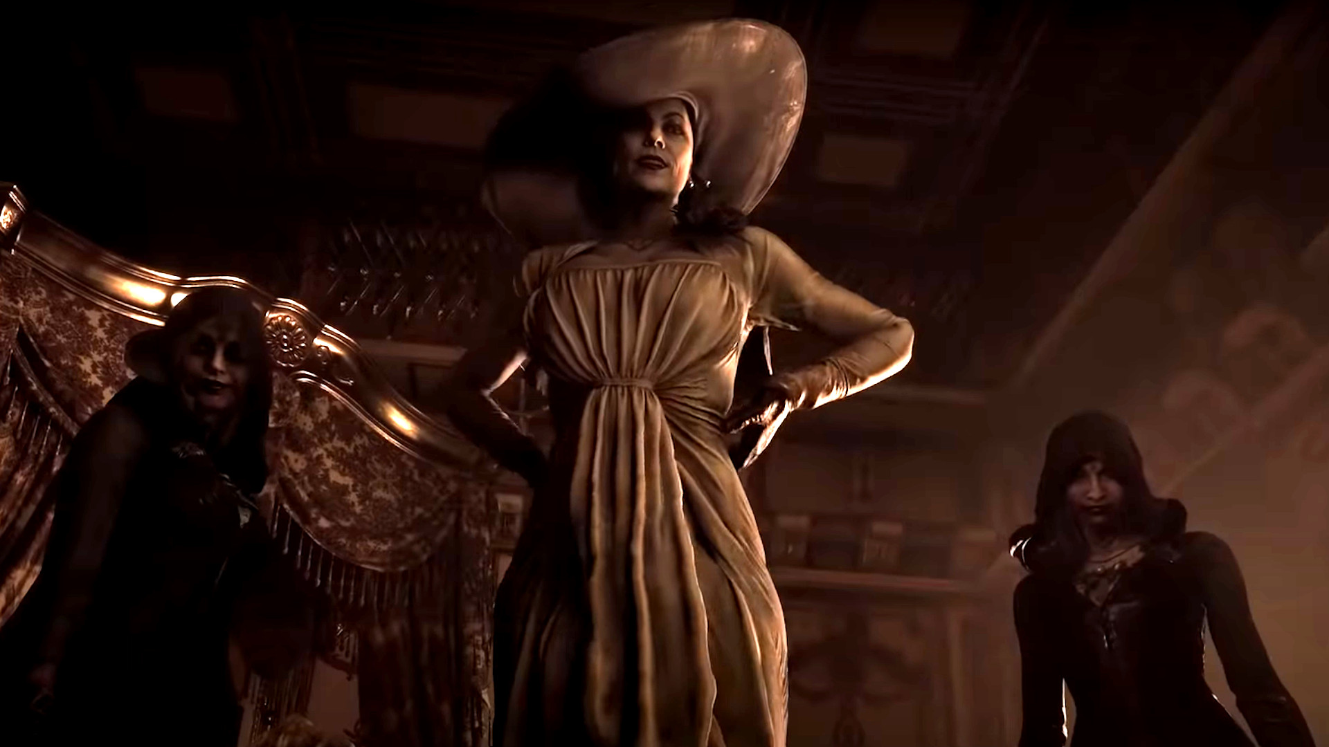 Resident Evil 8's giant woman has put the entire internet in horny jail