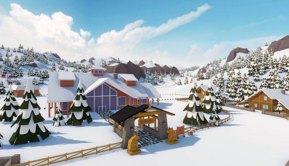 A lovely ski resort in Snowtopia