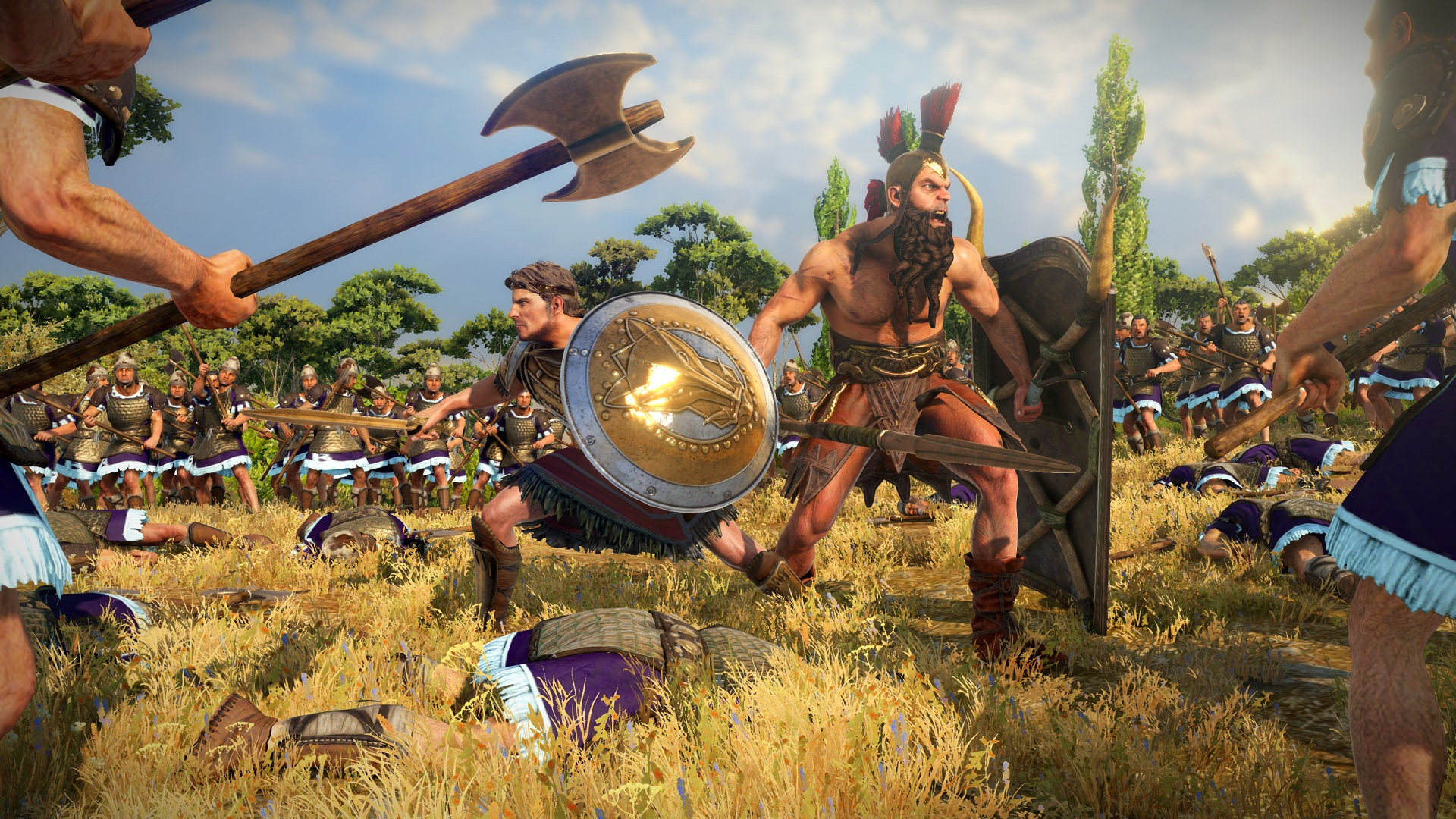 New Total War: Troy DLC adds Ajax & Diomedes, Warhammer 2 style units