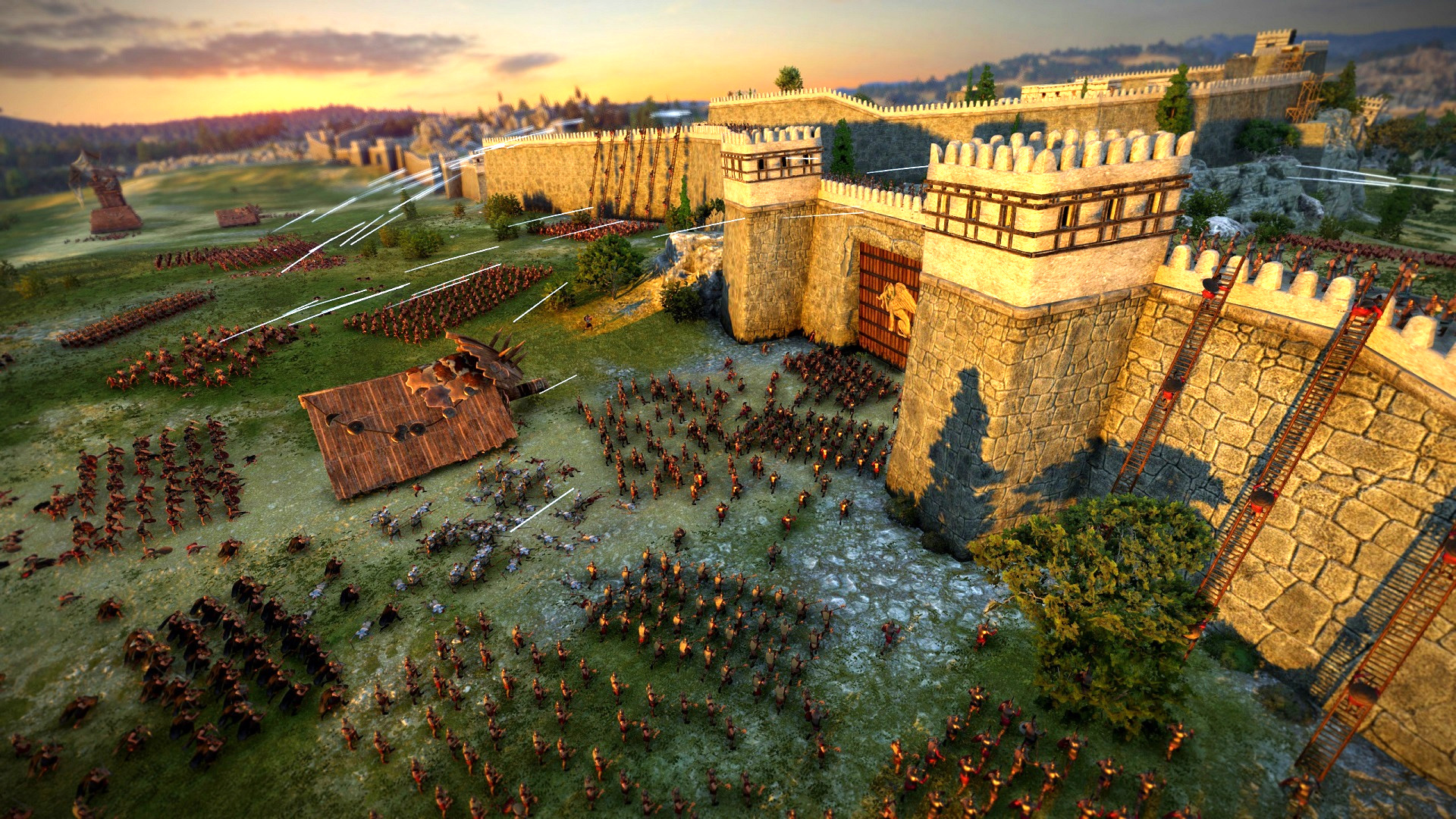 The new Total War Troy DLC is here, along with a big patch