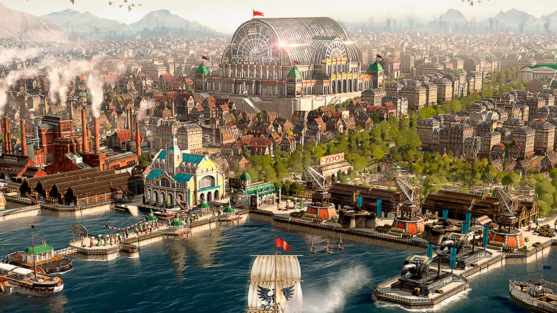 Anno 1800 is running another free weekend, 50% discount