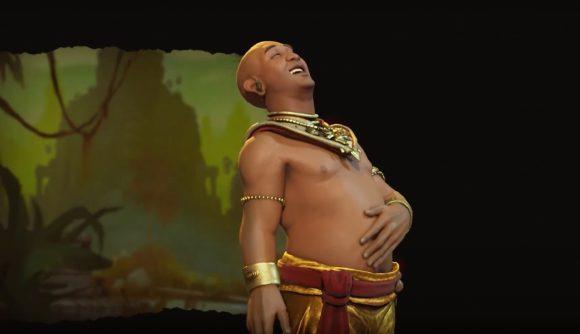 Jayavarman of the Khmer Laughs Heartily in Civ 6