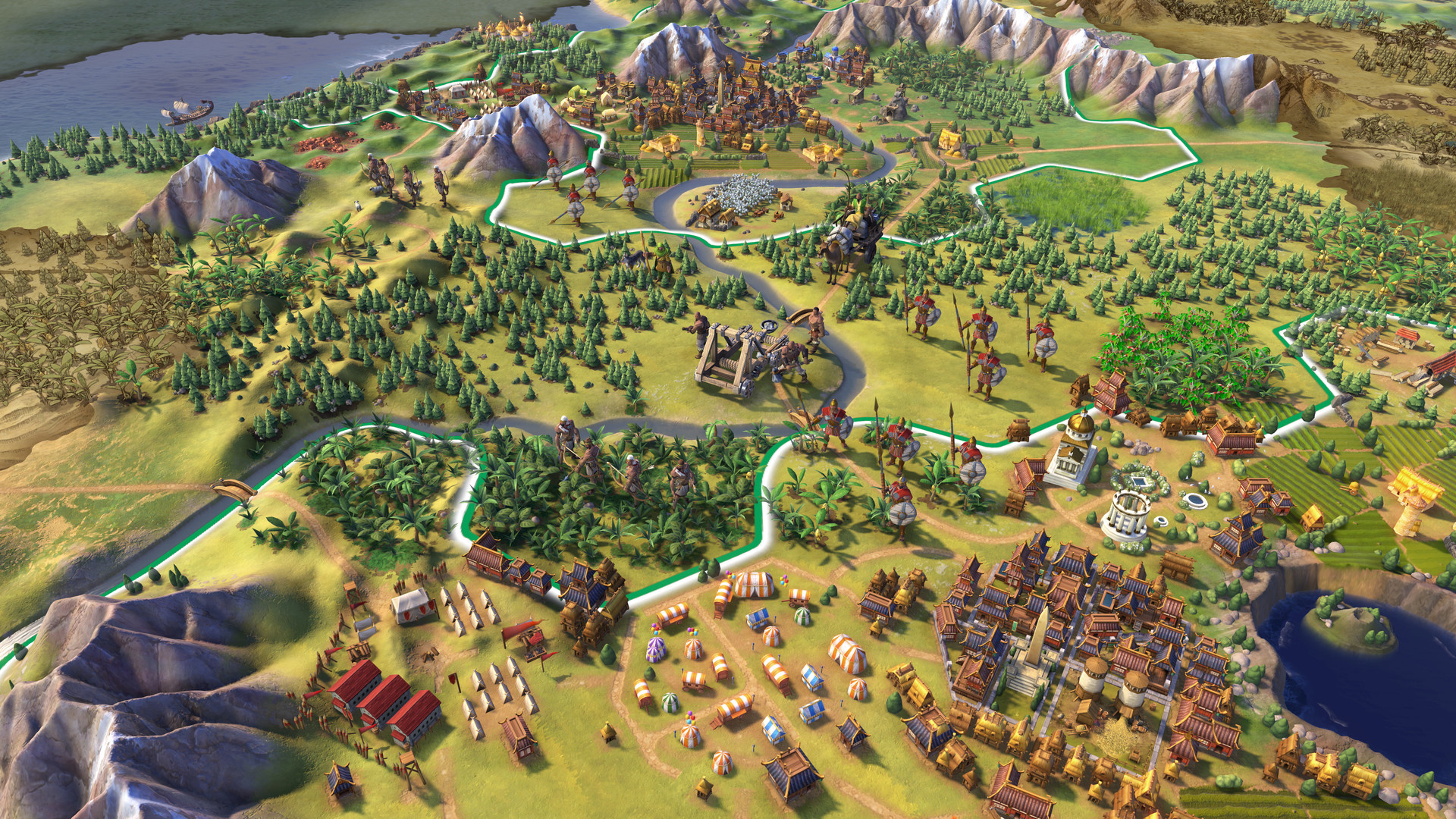 """Civilization fans are making city location maps """"for fun"""""""