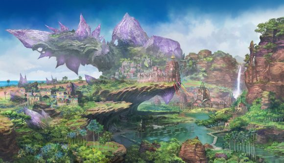 One of the bright, colourful new locations coming to Eorzea in Endwalker