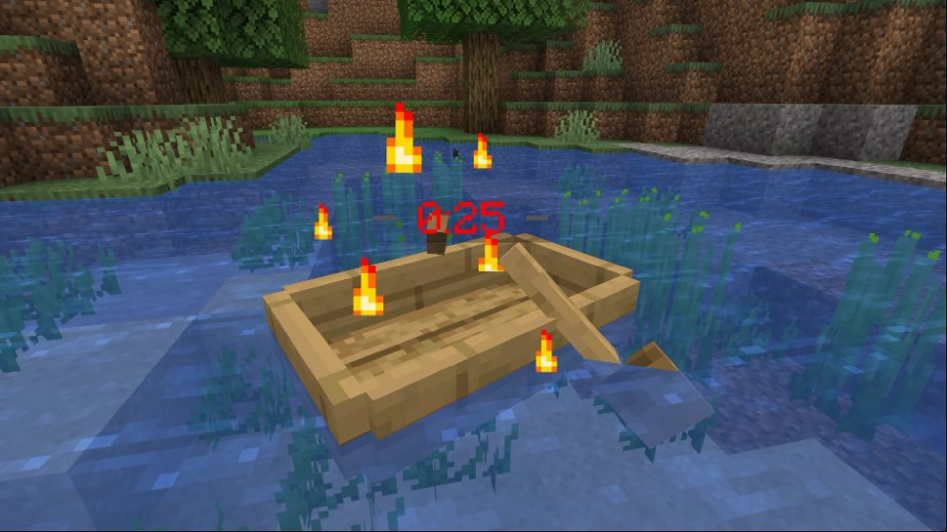This Minecraft mod turns almost everything into a time bomb