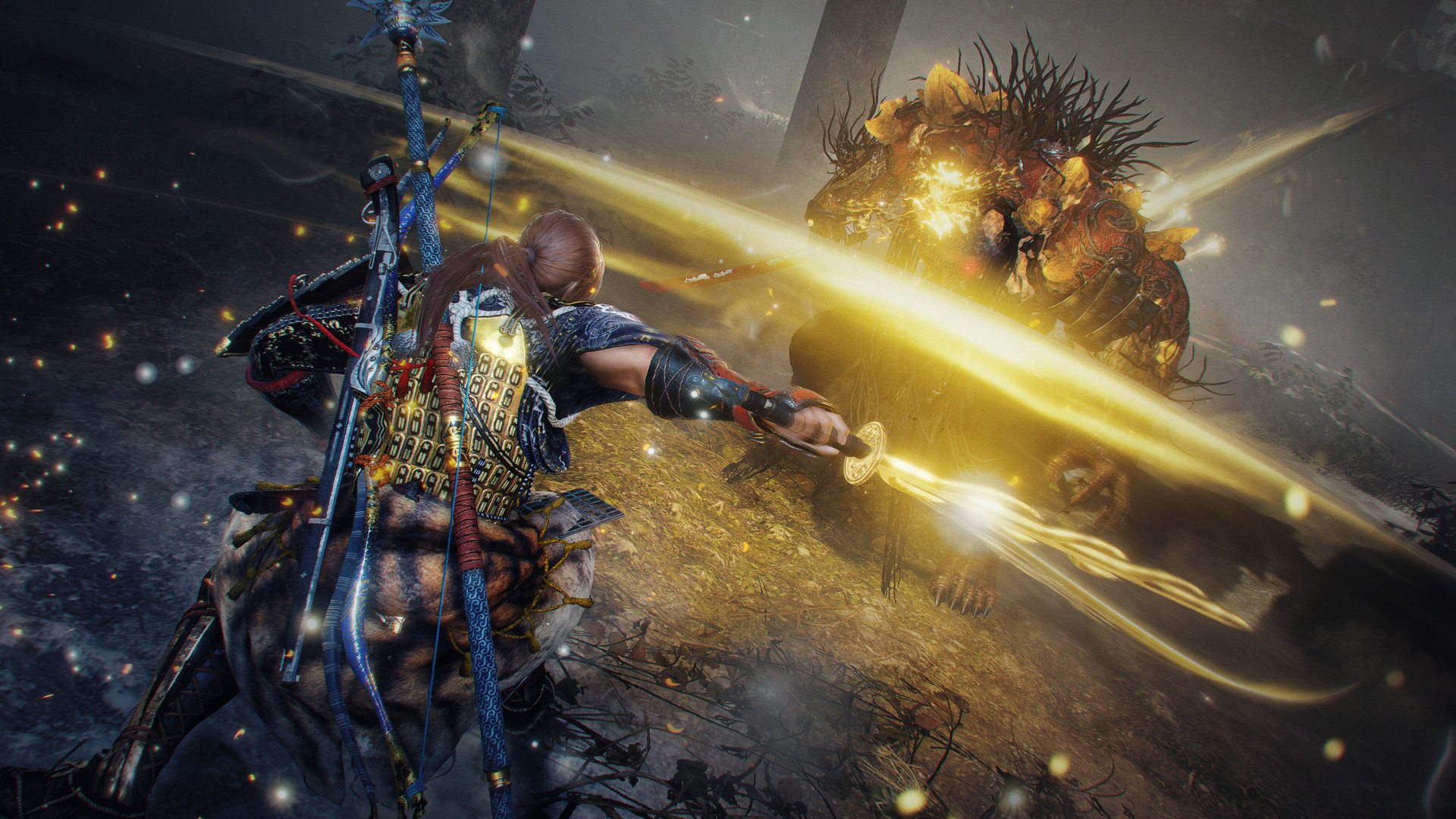 Nioh 2 players suffering frame rate and controller issues on Steam