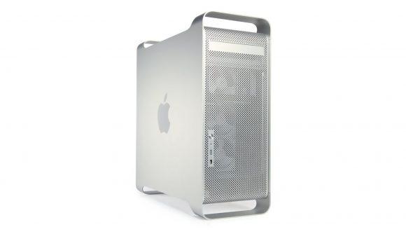 Photo of Apple's silver PowerMac case