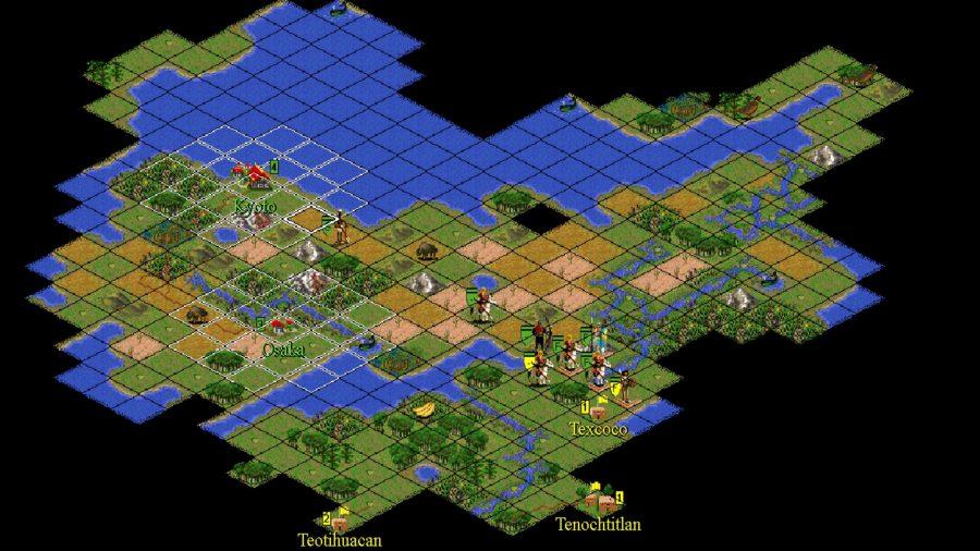 civilization 2 main map