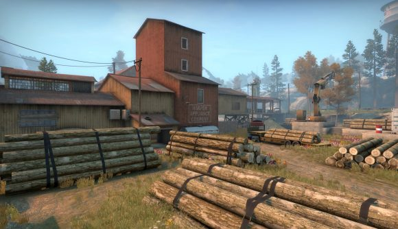 CS:GO's County map, which features in Operation Riptide