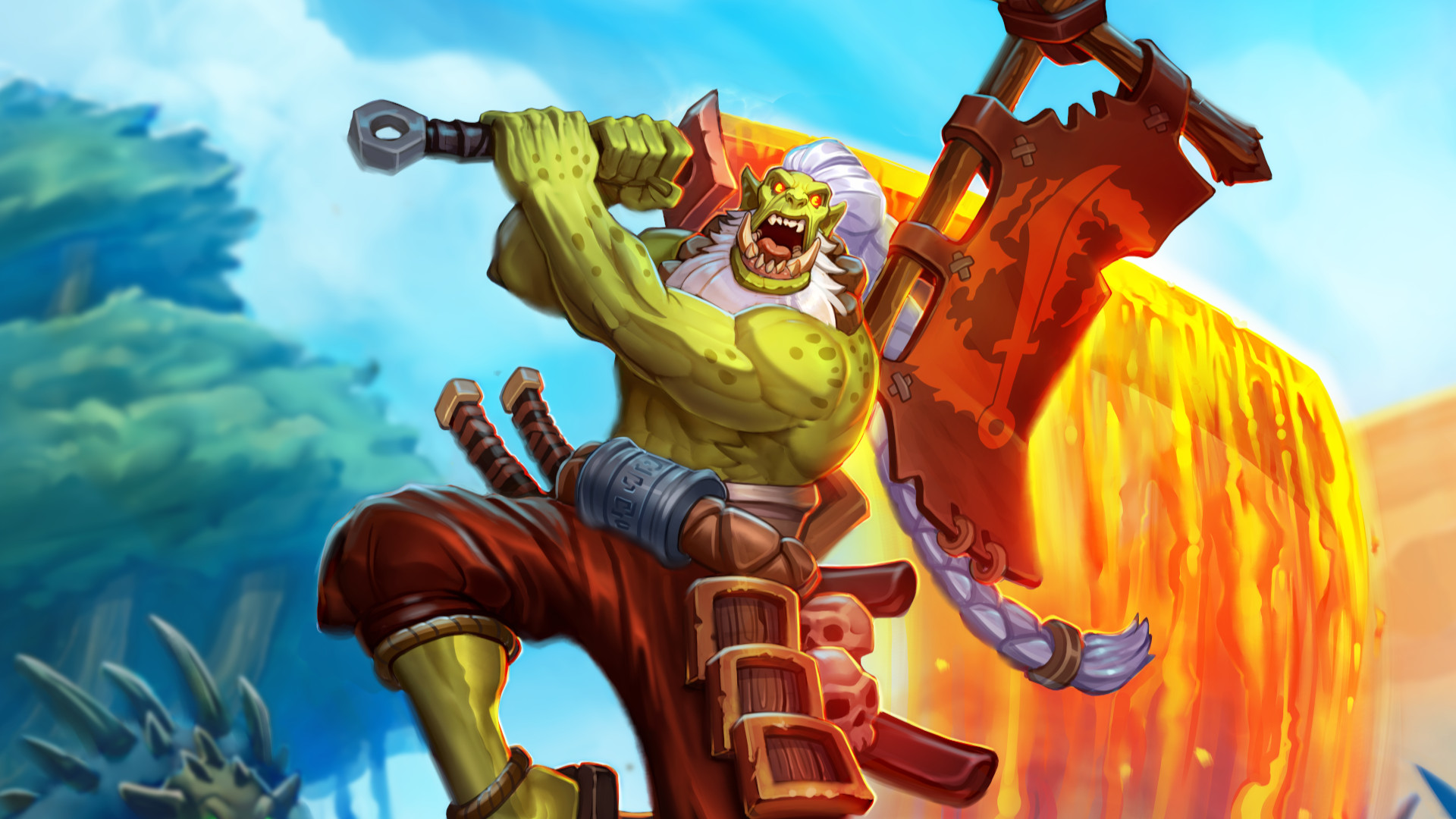 Here's every card revealed for Hearthstone: Forged in the Barrens