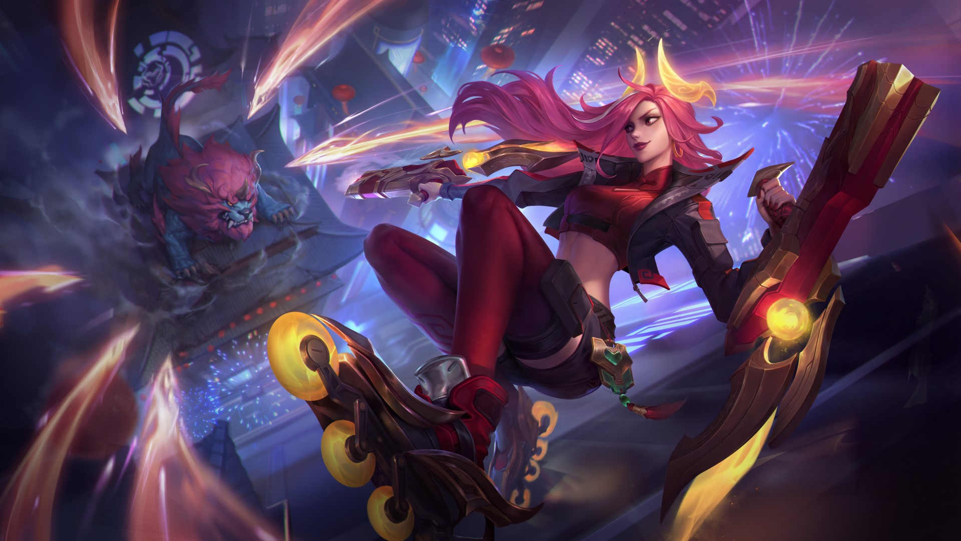 League of Legends and Wild Rift team up for a two-day Lunar Beast festival