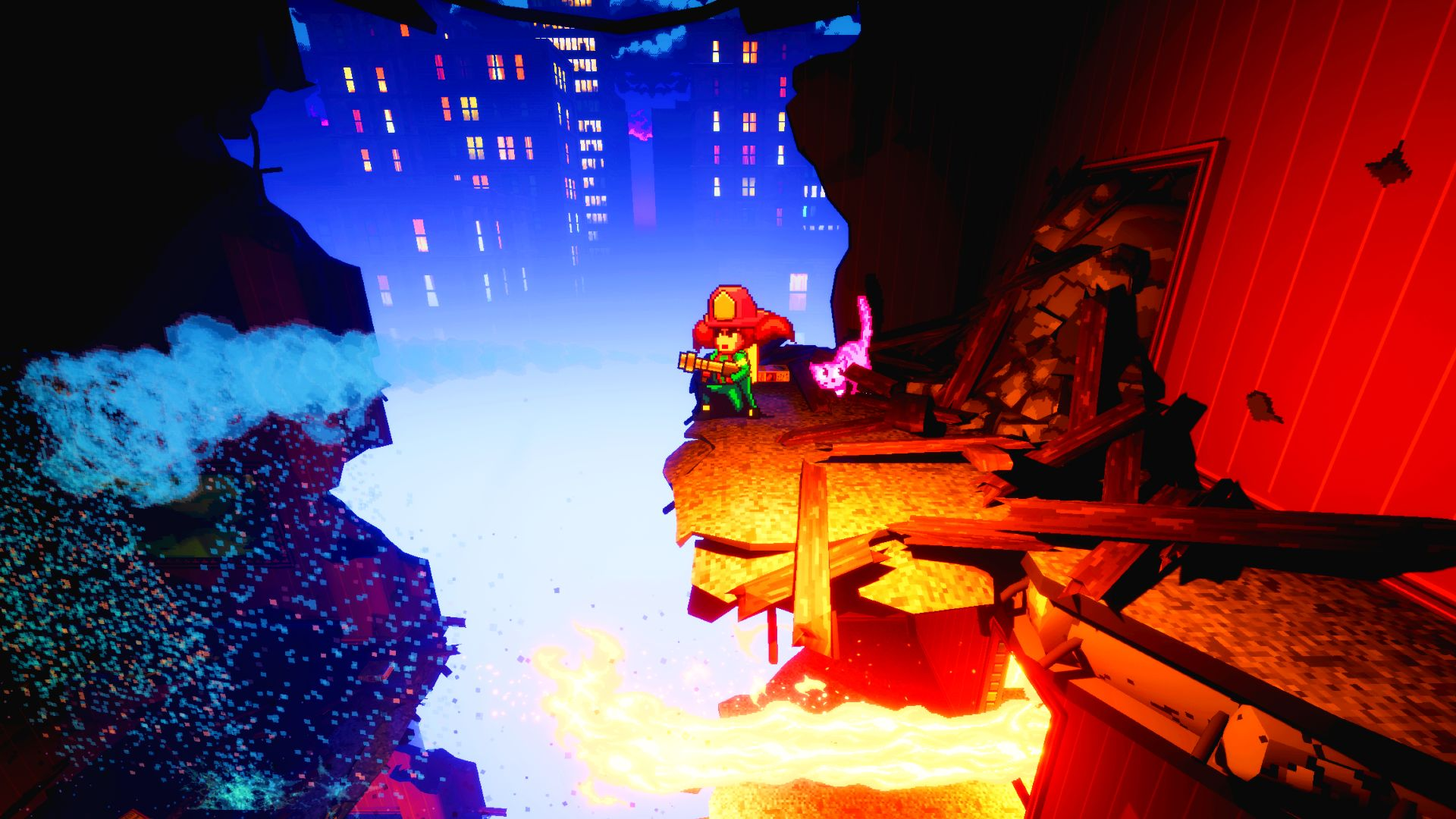 Making it in Unreal: battling raging infernos in roguelite Firegirl