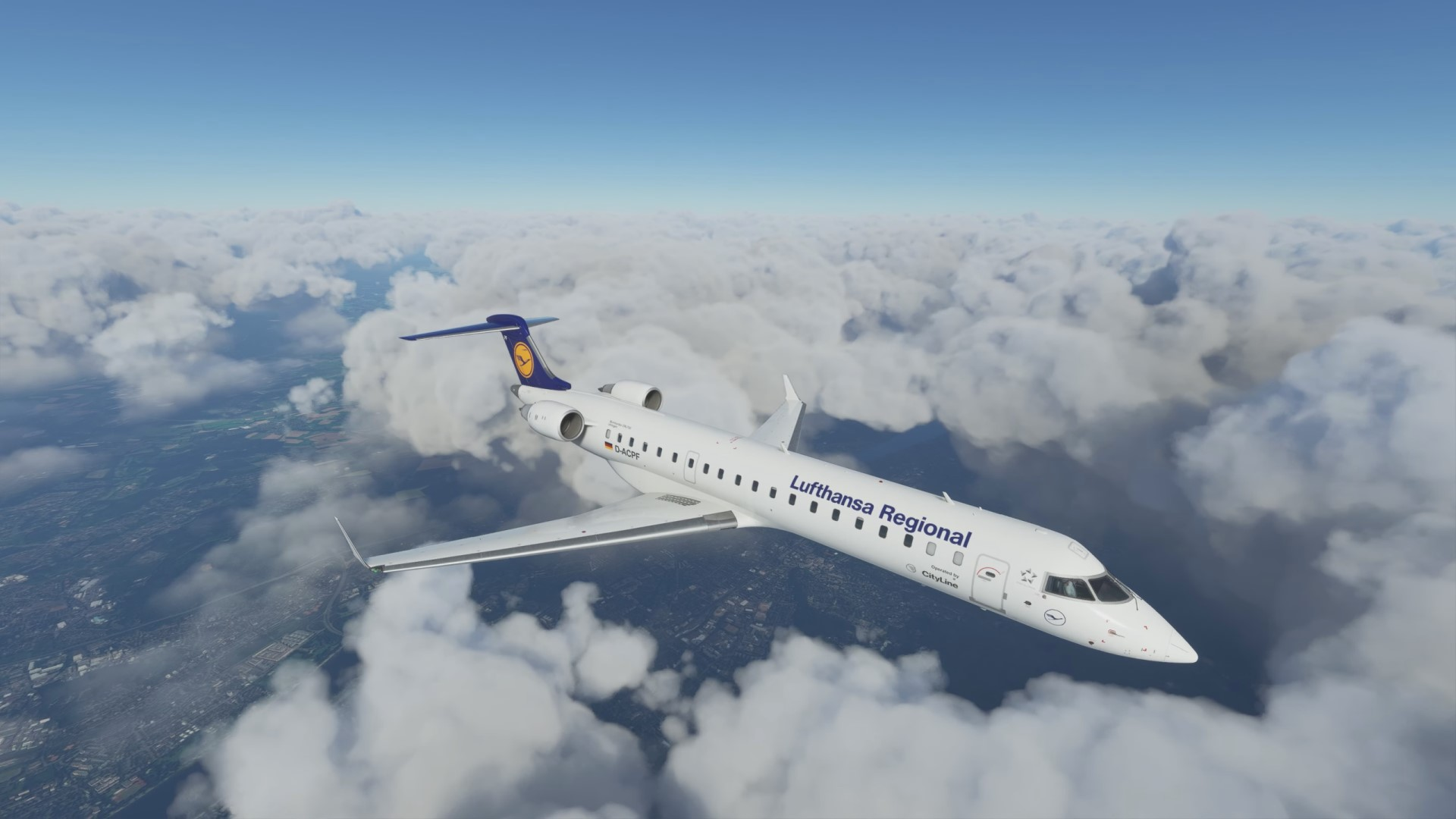 Flight Simulator is getting its first complex passenger jet, the CRJ