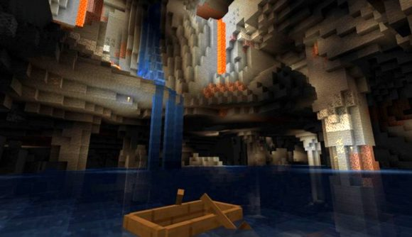 Minecraft devs explain the new cheese and spaghetti cave generation |  PCGamesN