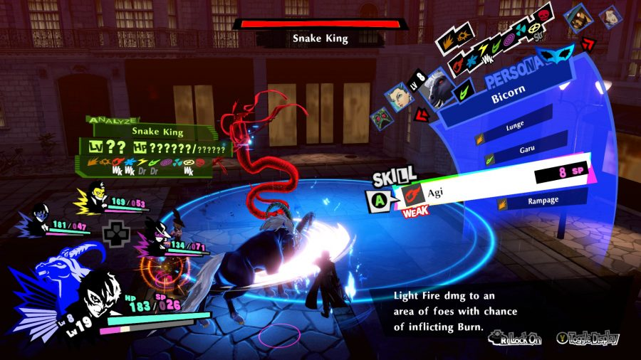 Fight the shadows in Persona 5 Strikers