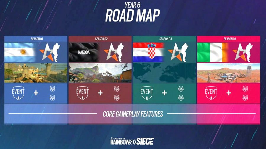 rainbow six siege year 6 roadmap 900x506 - Each Rainbow Six Siege Crimson Heist and 12 months 6 change detailed